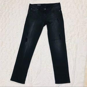 Kut from the Kloth Black Catherine Boyfriend Jeans